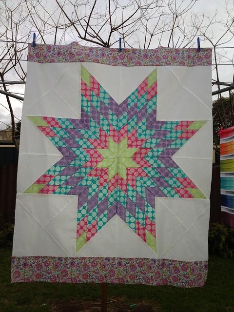 Sparkle Lone Star Quilt