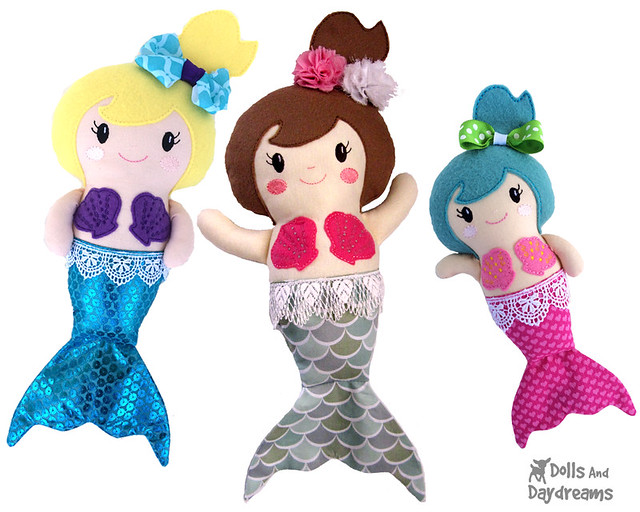 ITH Mermaid Pattern