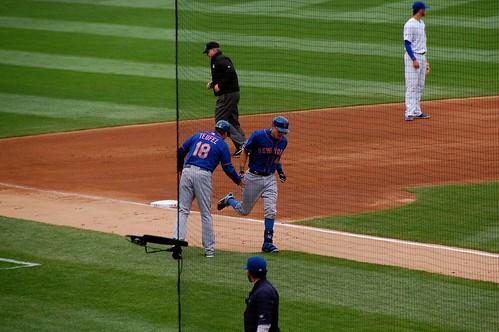 Wilmer Flores home run