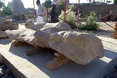 Colossal Statue Undergoing Restoration