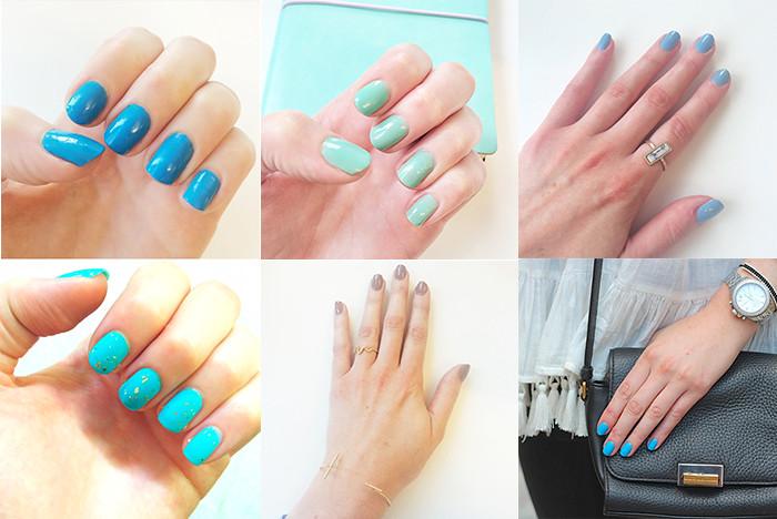 Nail blog composite