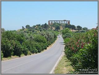 """""""עמק"""" המקדשים ב- Agrigento, מה-אתרים בסיציליה"""