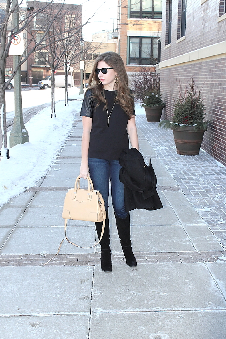 leather-sleeve-shirt-outfit-ideas