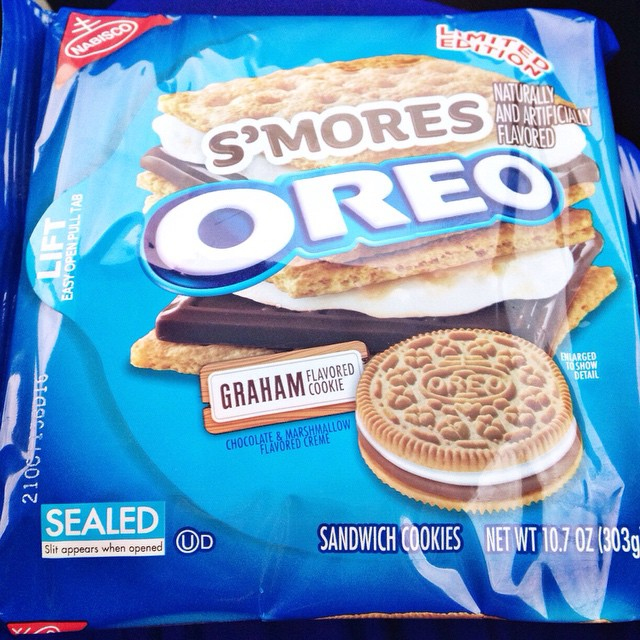 @lisaannpeterson s'mores Oreos!