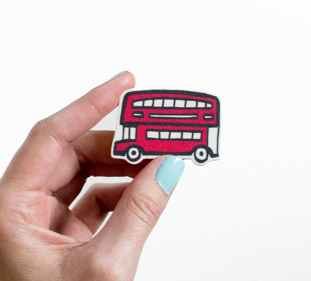 Cute Illustrated Pins by Vitamini