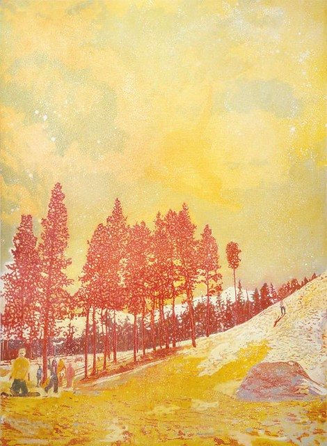 Peter Doig, Orange Sunshine, 1995-95, Oil on canvas