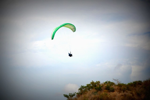 Paragliding from Bantay Abot, Narvacan