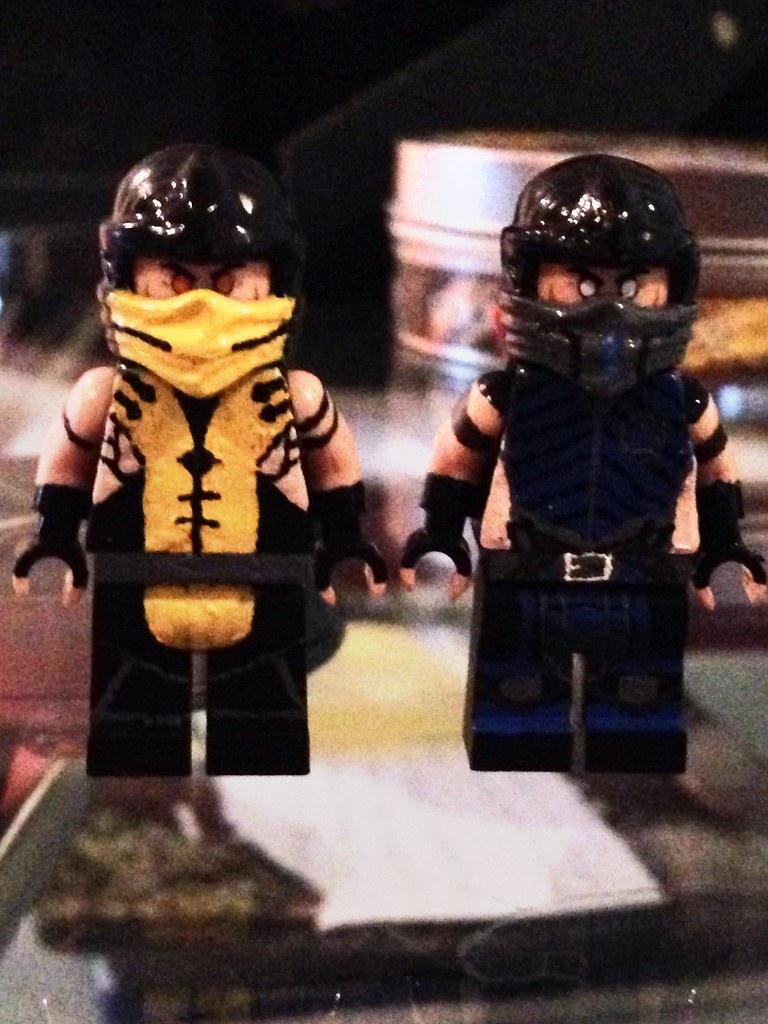 Lego Mortal Kombat X Scorpion and Sub-zero | cortes_connor ...