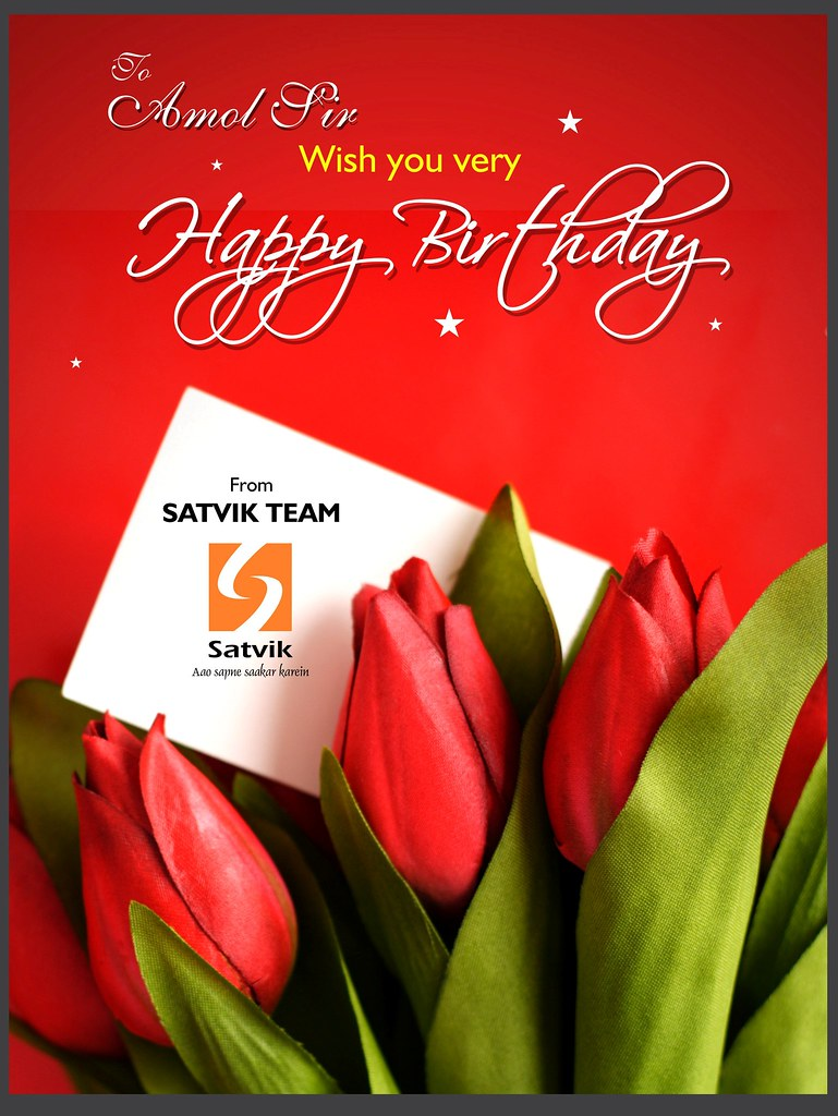 Amol Sir Wish You Very Happy Birthday Today Is A Wish You Happy Birthday Sir