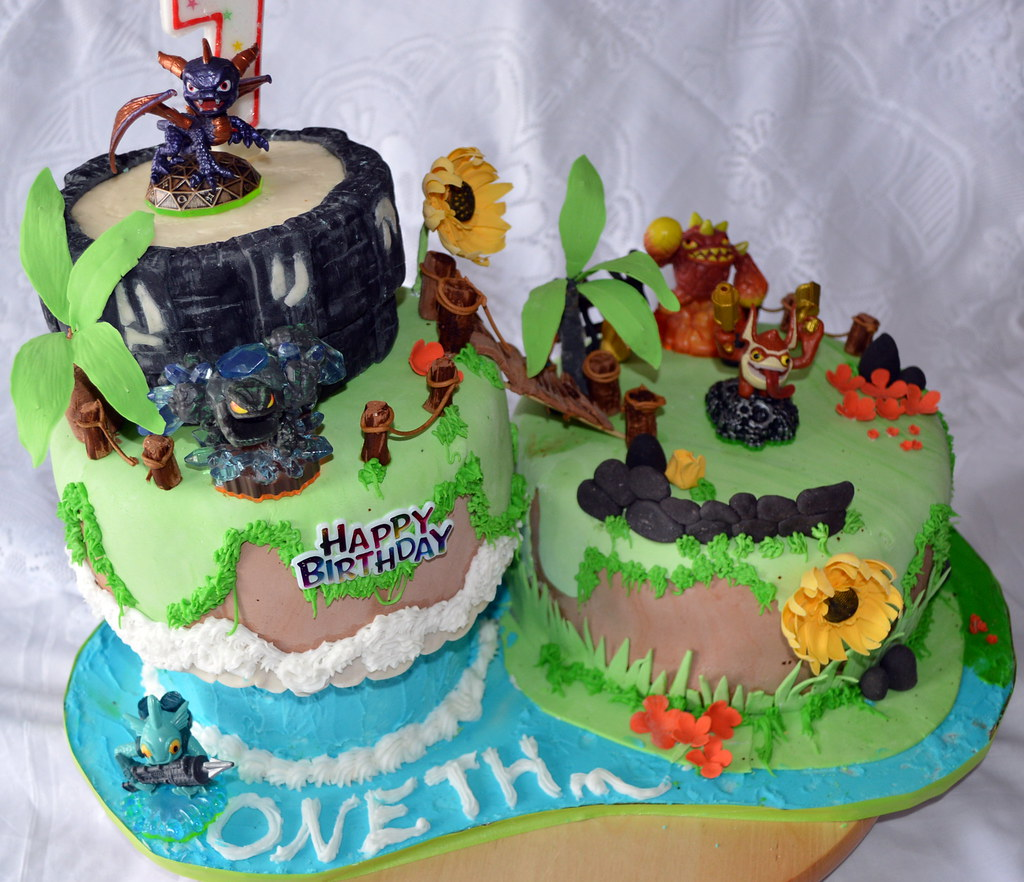 Skylander Birthday Cake Images