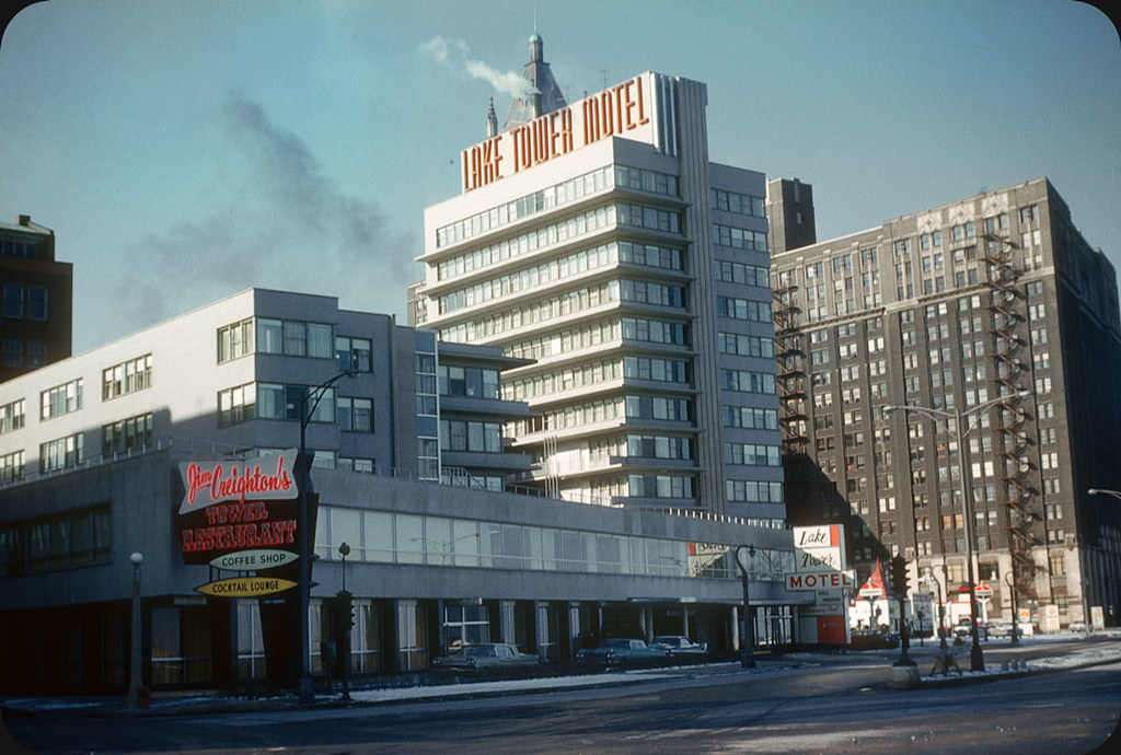Lake tower motel chicago 1959 part of the lakeshore for Motels in chicago