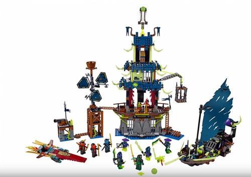 LEGO Ninjago City of Stiix 70732