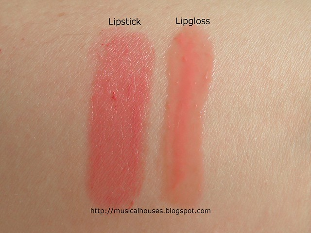 BonjourHK Yu Mei Flawless Triple Action Lip Reshaping Lipstick Lipgloss Swatch