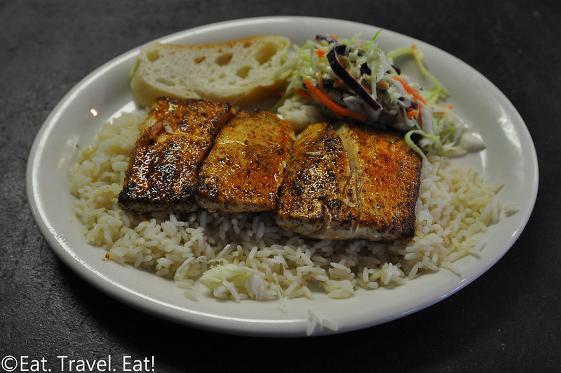 California Fish Grill- Irvine, CA: Cajun Pan Seared Mahi