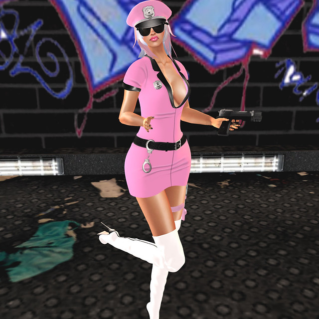 FASHION FEATURE:PINK PEARL DESIGNS/PINK POLICE