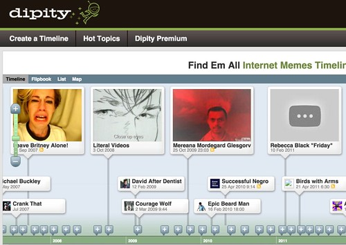 Dipity - Find, Create, and Embed Interactive Timelines_p0gqm