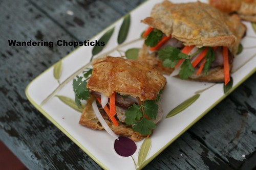 Banh Pa Te So Nhan Banh Mi (Vietnamese Pate Chaud (French Hot Pastry Pie) with Sandwich Fillings) 8