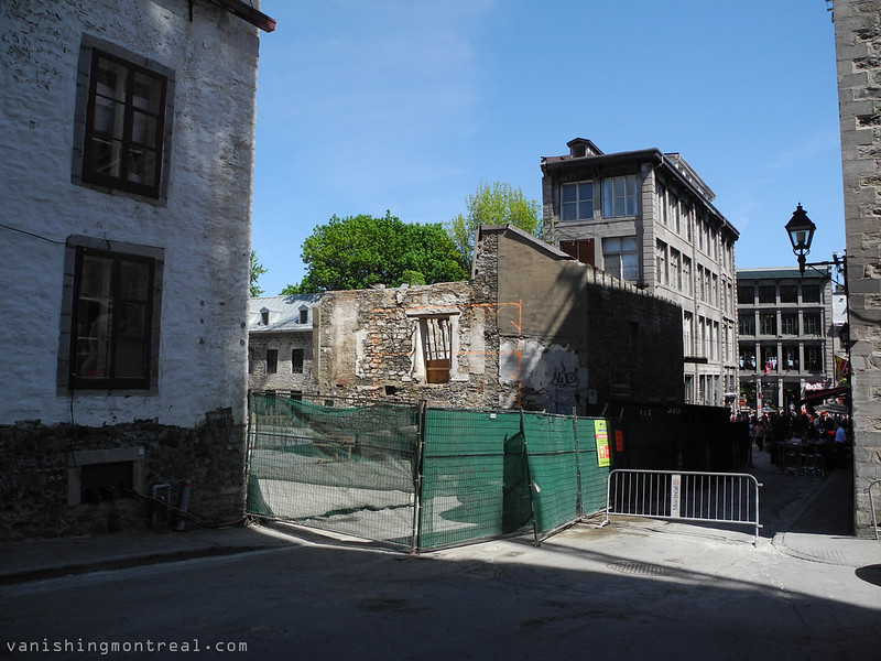 Place Jacques Cartier construction 8