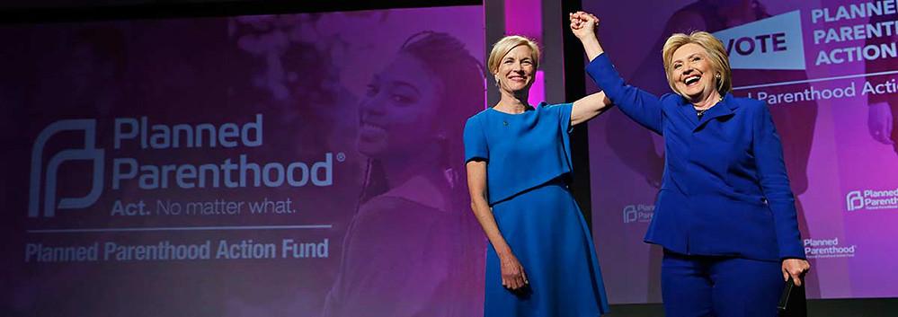 El lobby abortista que financió a Clinton dice estar 'deva