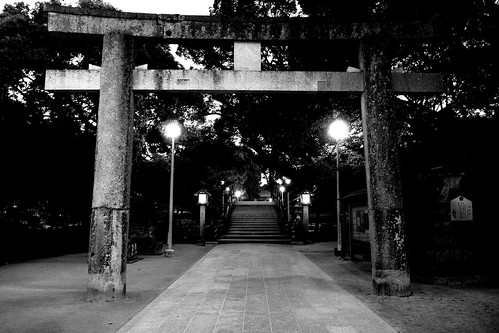 Dazaifu Tenmangu Shrine in morning on NOV 26, 2016 (1)