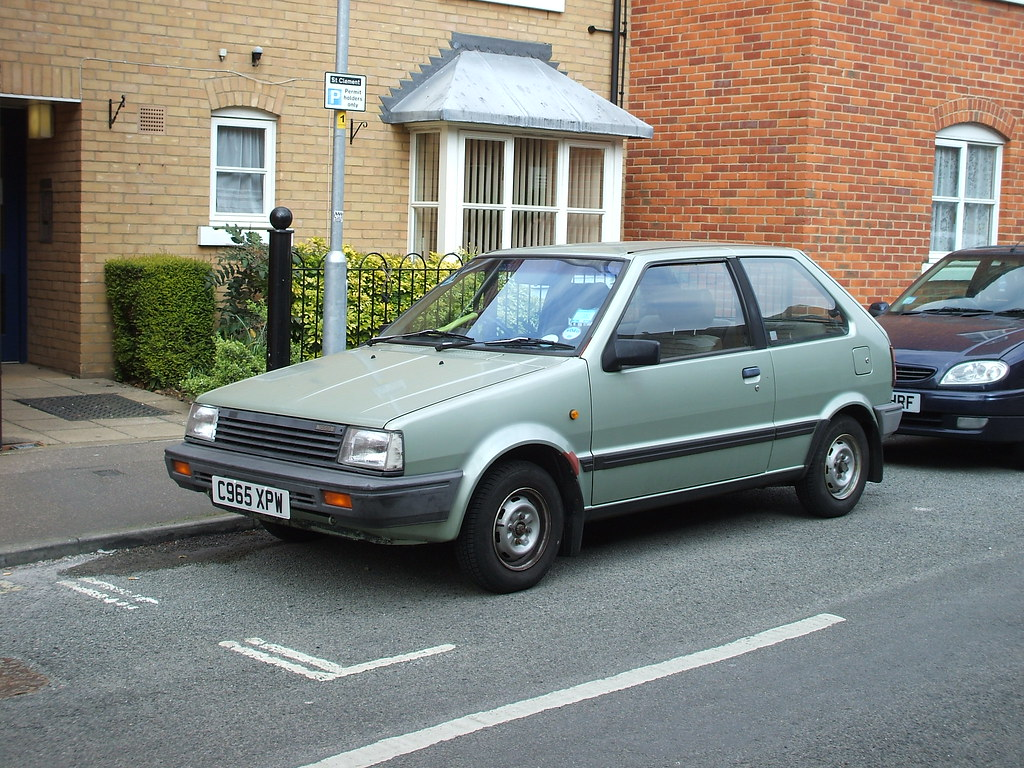 1985 86 nissan micra k10 this car is almost always. Black Bedroom Furniture Sets. Home Design Ideas