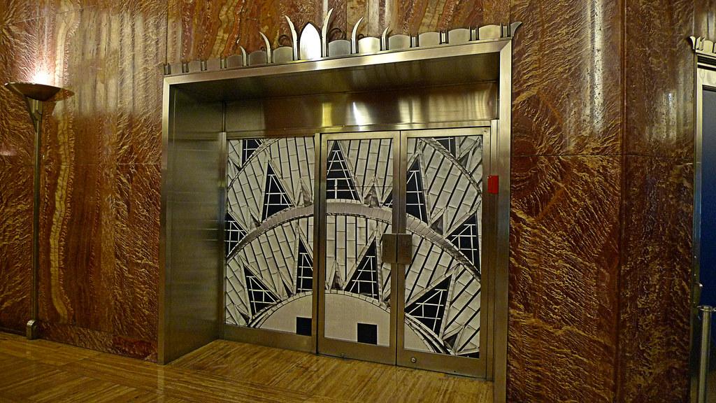 Chrysler Building Interior Door Duncan Flickr