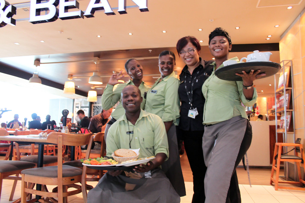mugg and bean is looking for waiters in pretoria after