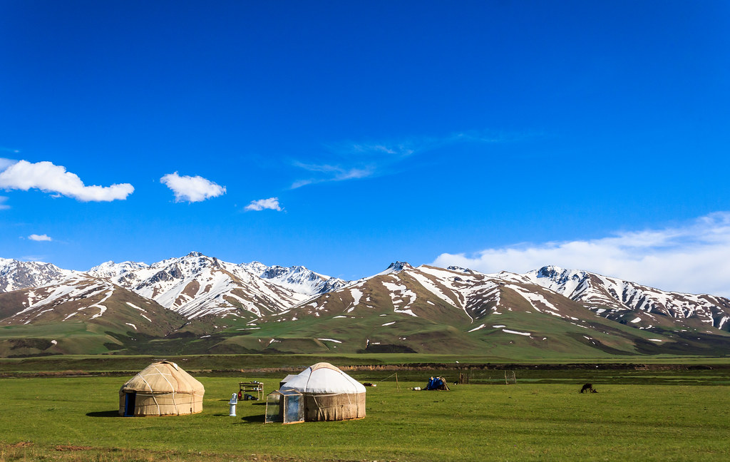 Landscape in Kyrgyzstan | Buy this photo on : Getty Images ...