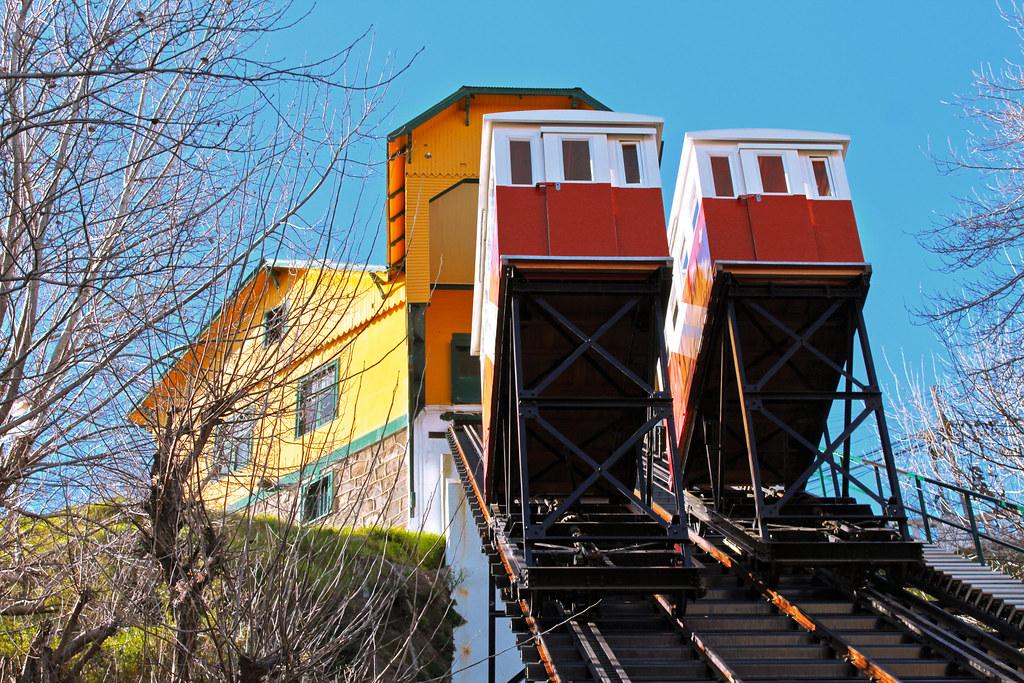 Ascensor Barón, Cerro Barón, Valparaíso Chile | Fue construi ...
