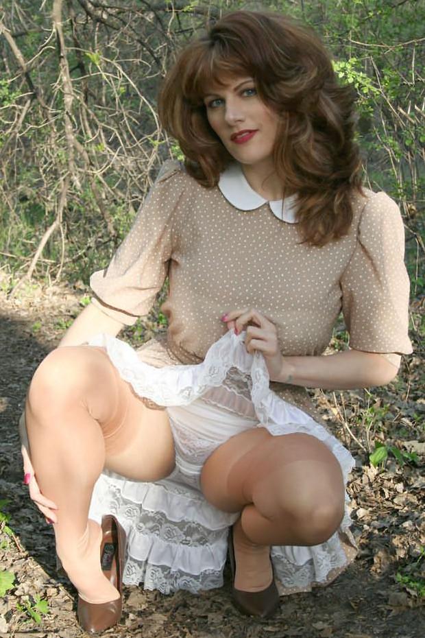 mature pics nylon stocking pantyhose