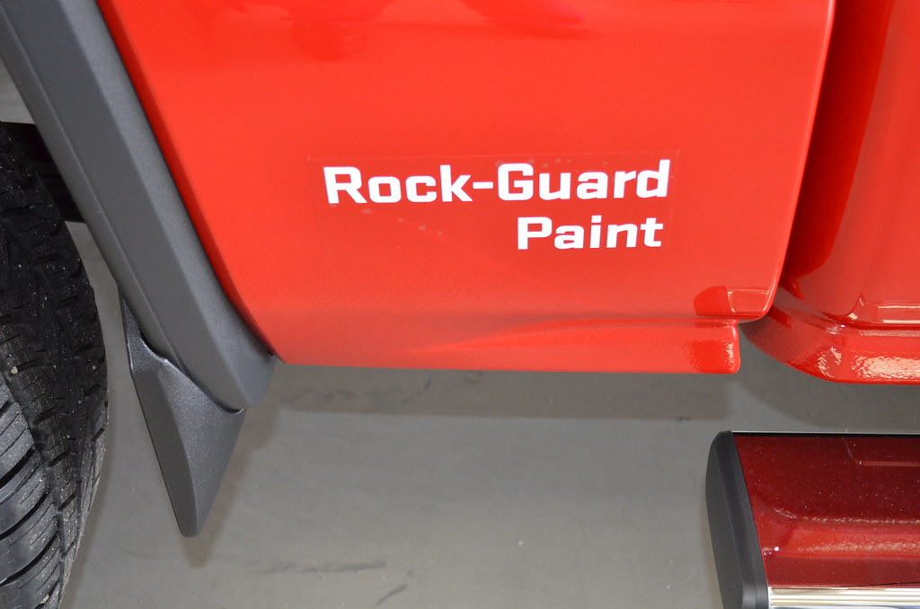 Painting Gravel Guard Sierra Rock Guard Paint
