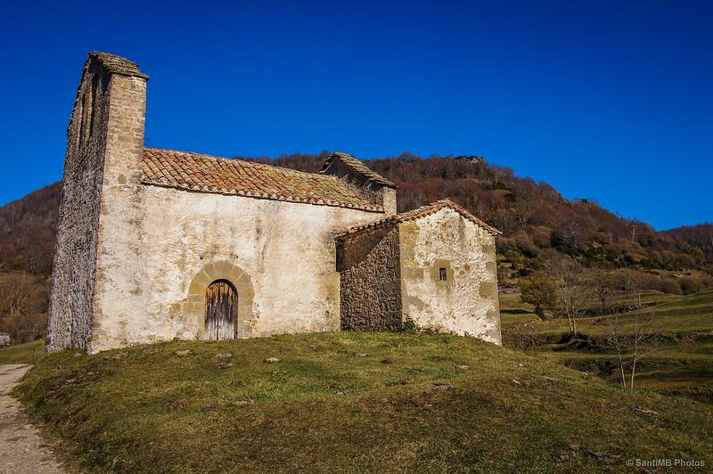 La ermita de Sant Bartomeu de Covildases cerca