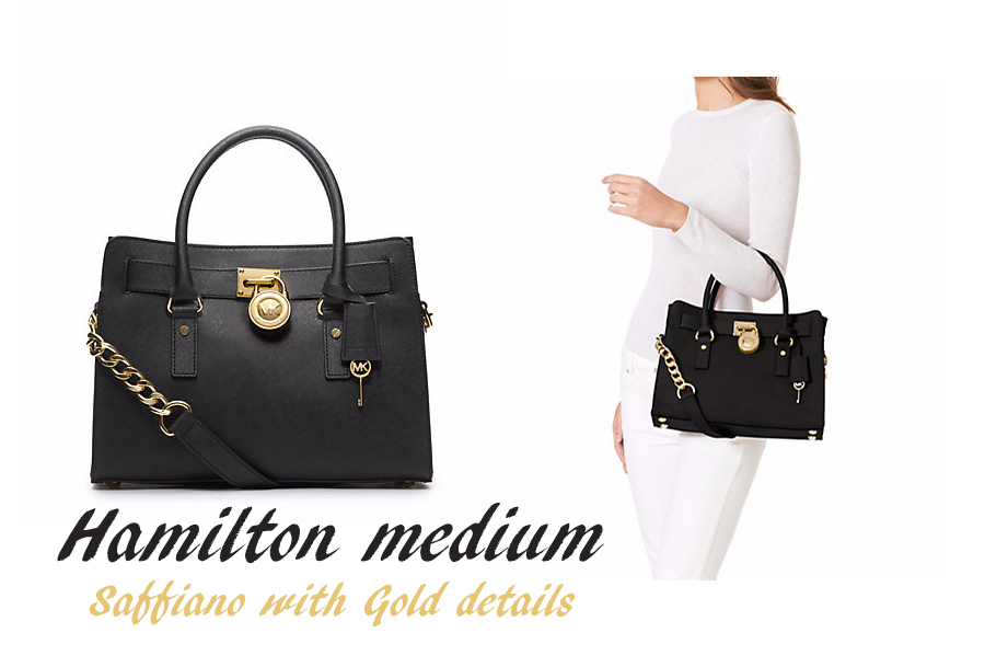Hamilton medium saffiano