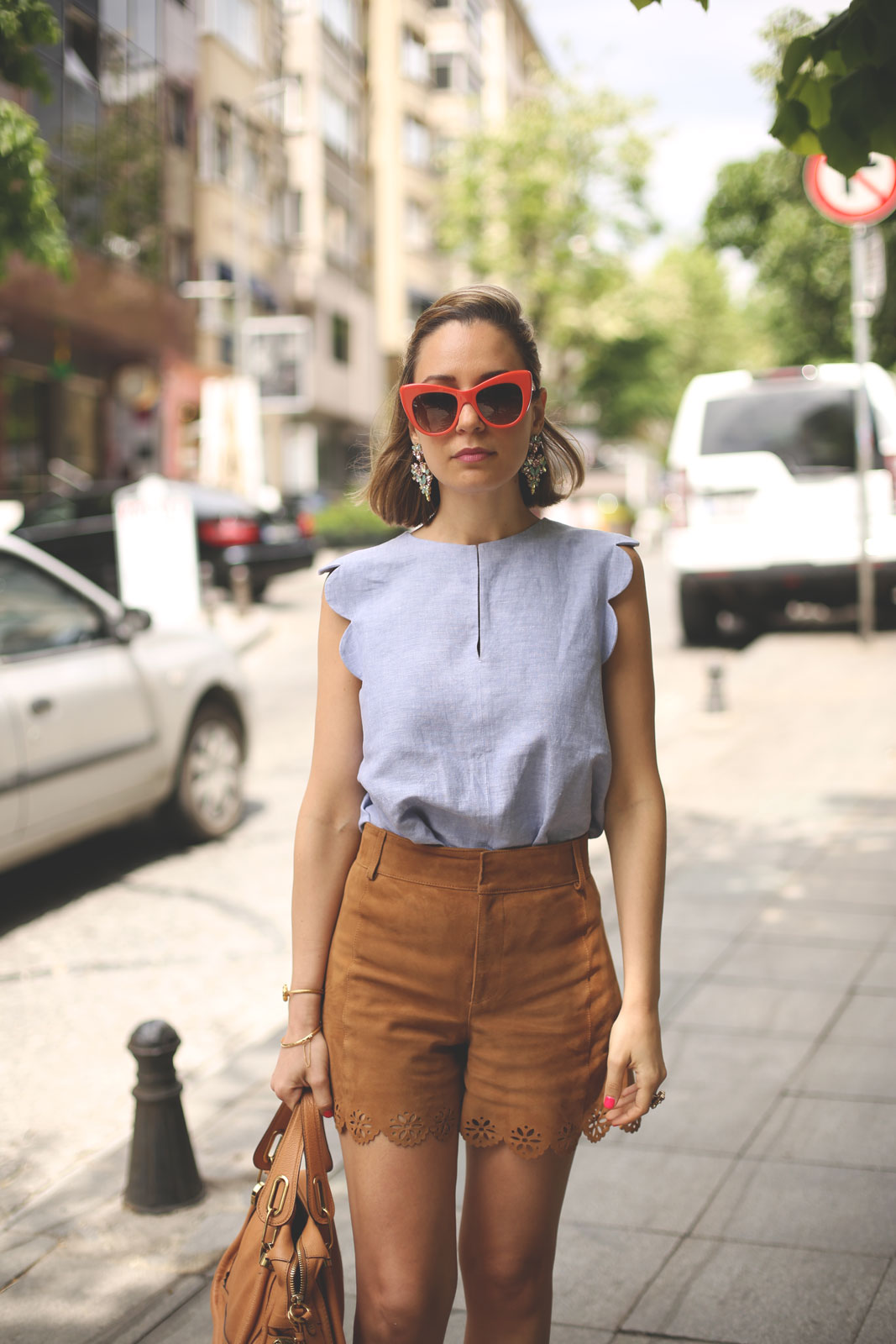 Istanbul – Suede Shorts – My Showroom