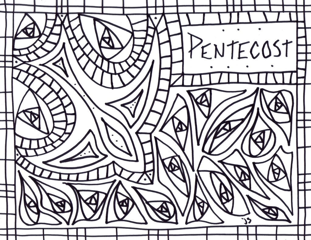 Pentecost coloring sheet pentecost coloring page flickr for Pentecost coloring pages