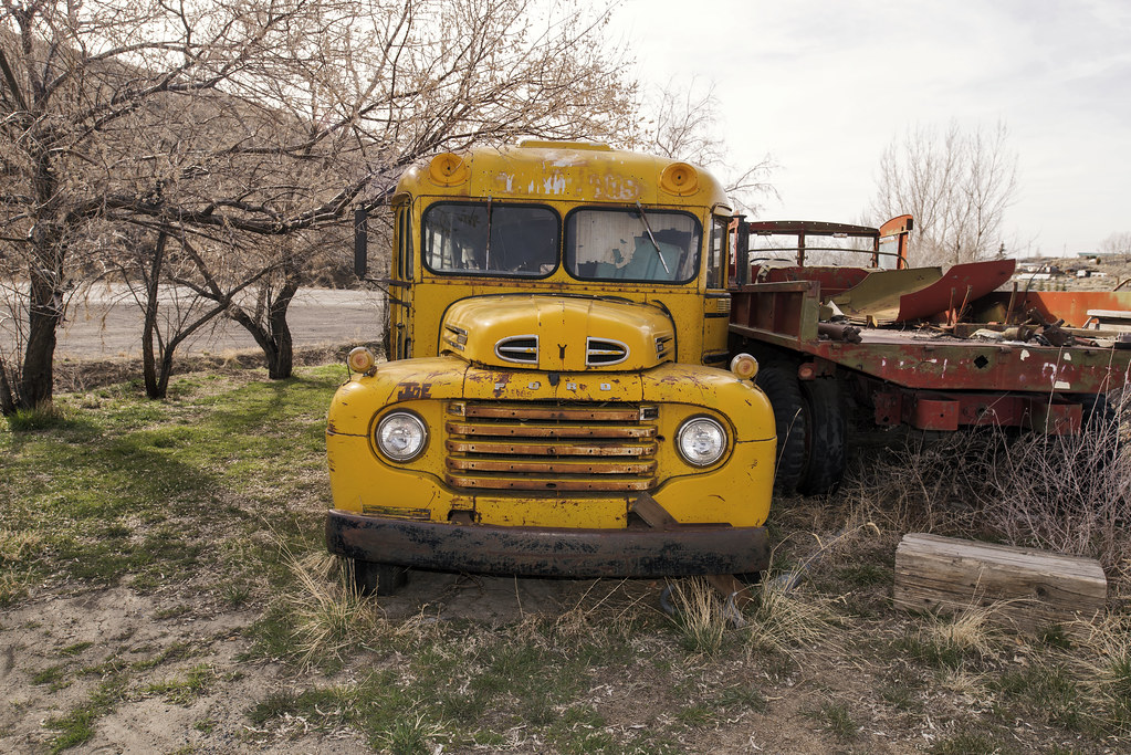 1949 Ford School Bus Austin Nevada Curtis Perry Flickr