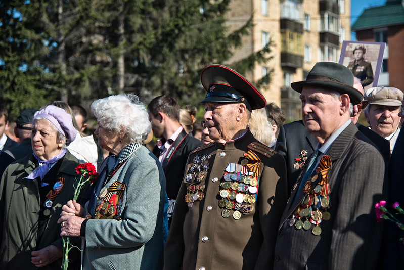 Victory Day in Krasnoyarsk