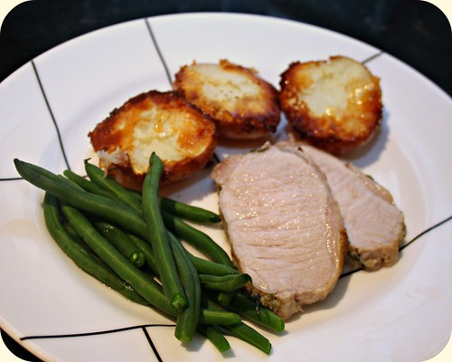 Garlic Rosemary Pork Loin
