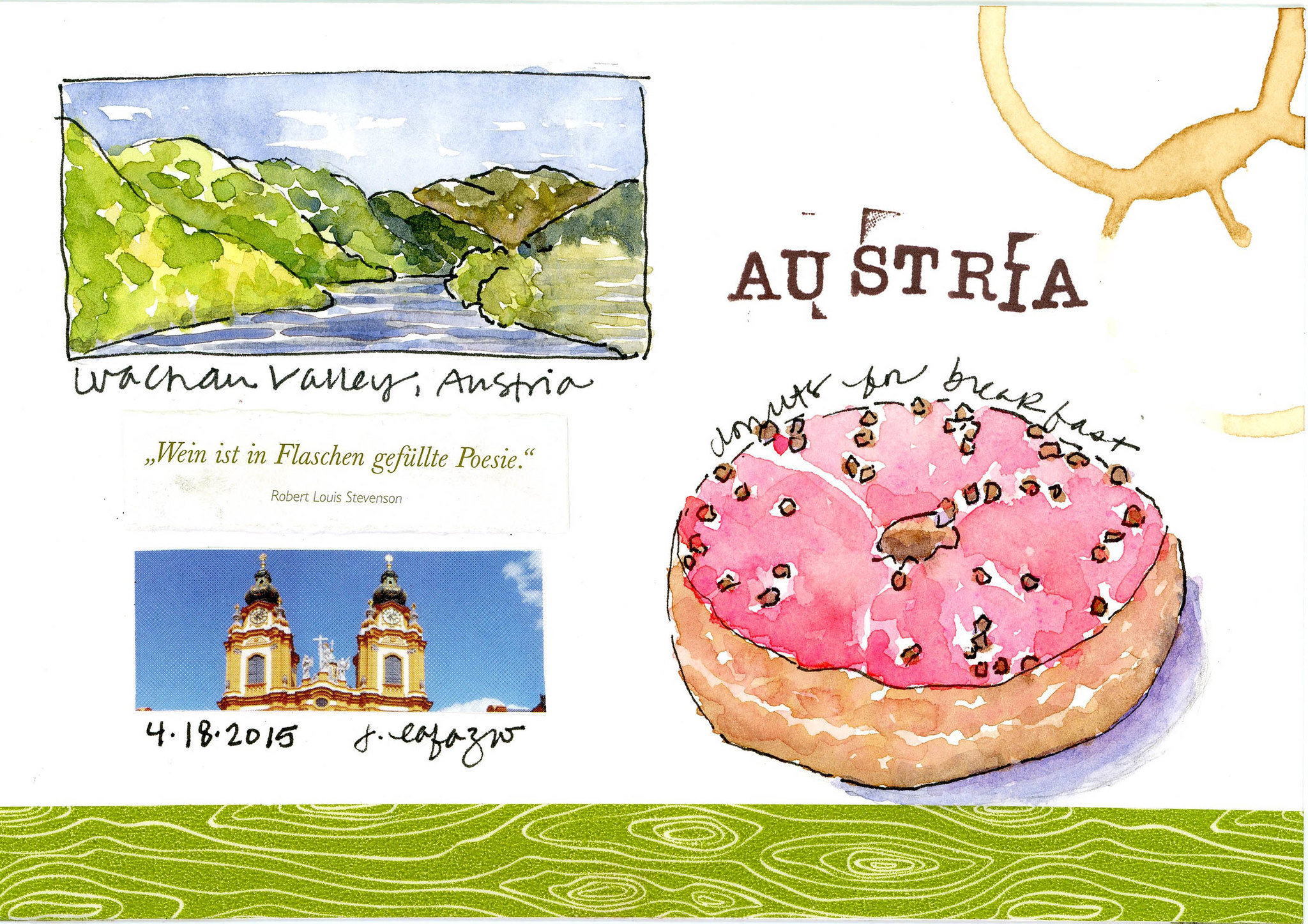 austria painting donuts page