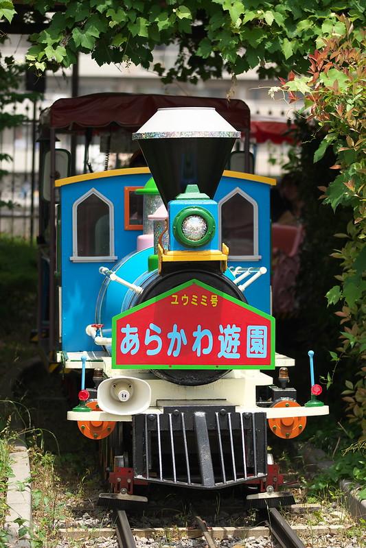 Tokyo Train Story あらかわ遊園の豆汽車 2015年5月23日