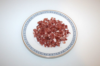07 - Zutat Schinkenwürfel / Ingredient bacon dices
