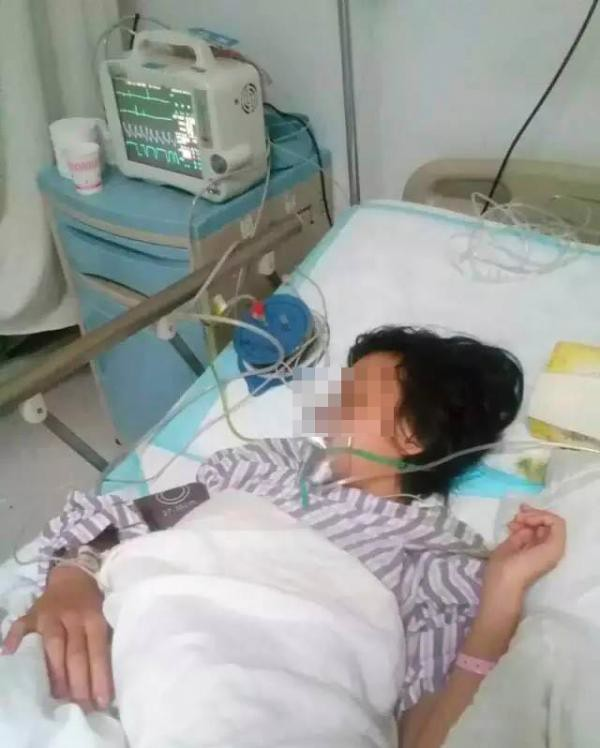 A soft palate fall girls high were seriously injured in Yunnan Bureau denied that because Lisp was teacher abuse