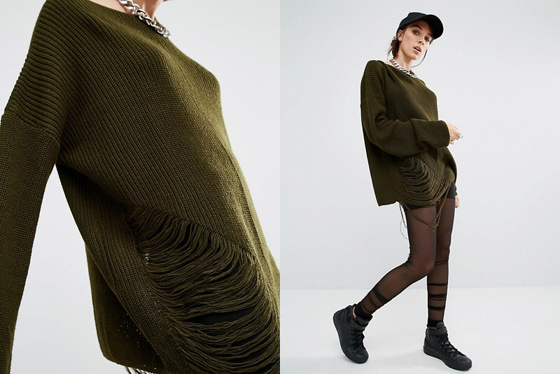 Oversize Knit Jumper by BONES