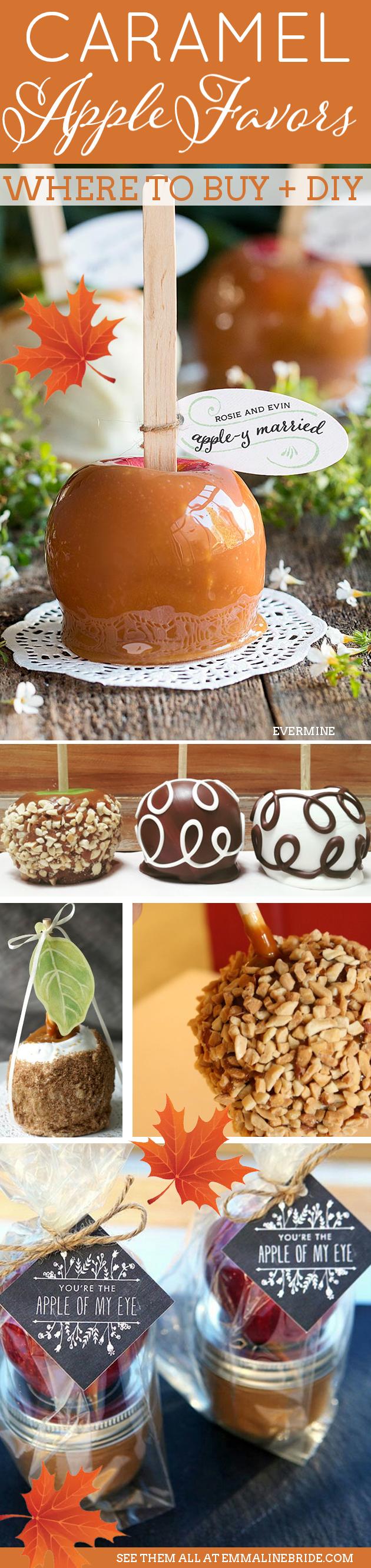 where to buy caramel apple favors for weddings wedding. Black Bedroom Furniture Sets. Home Design Ideas