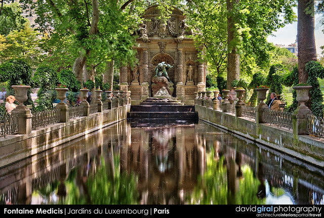 Fontaine medicis jardin du luxembourg paris want to us flickr photo sharing - Fontaine jardin du luxembourg ...