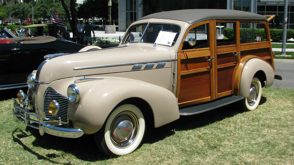 Concours D Elegance >> 1940 Pontiac Special Six woodie Wagon 1 | Photographed at th… | Flickr