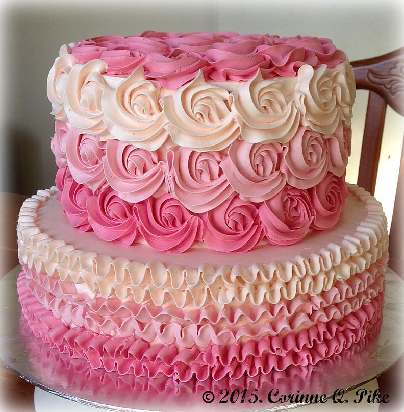 Hot Pink Wedding Cakes