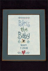 Bless the Baby sampler