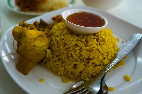 Chicken & Yellow Rice at Hatyai