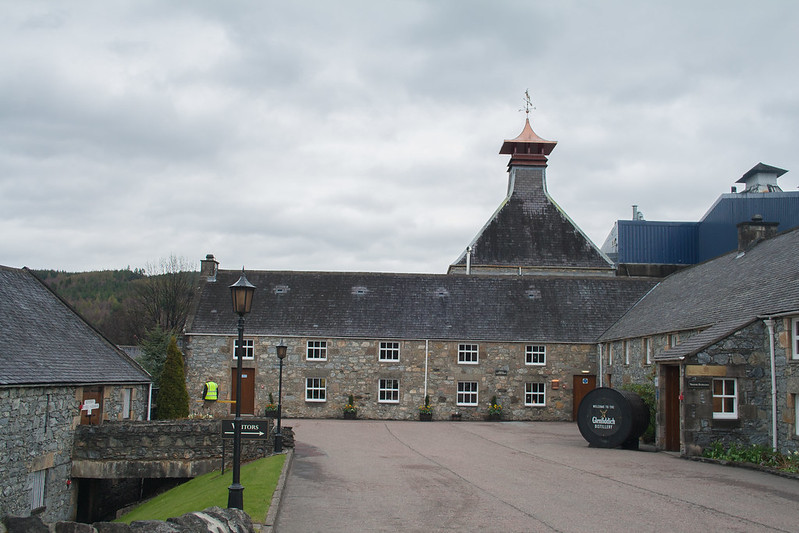 Glenfiddich Whiskey Distillery